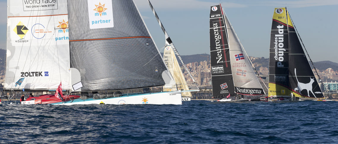 Points on the scoreboard for the new Barcelona World Race