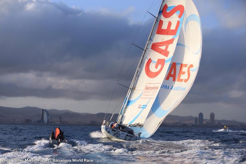 Loud & Clear: GAES Centros Auditivos third in the Barcelona World Race