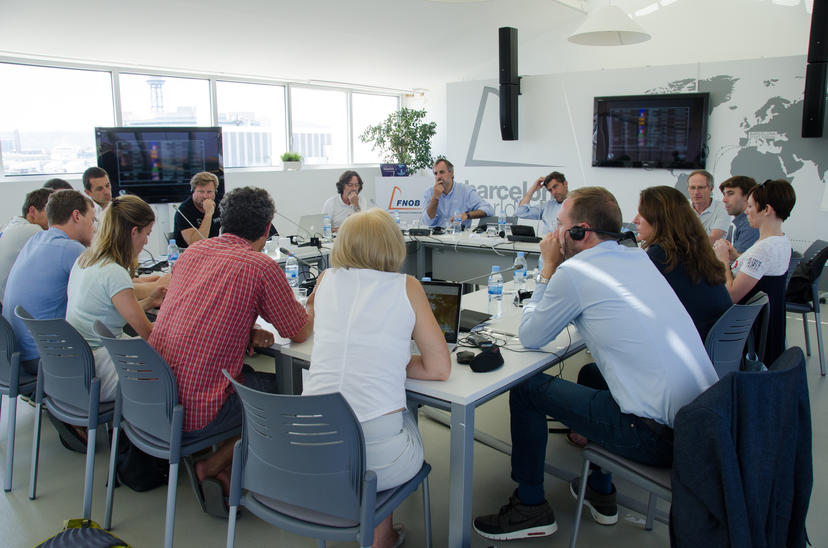Barcelona hosts for the first time the board meeting of the IMOCA  class worldwide